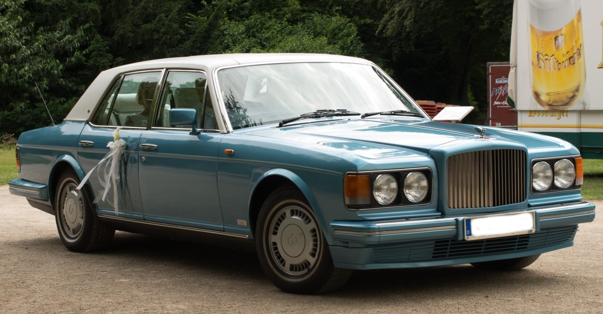 Bentley Turbo R seitlich